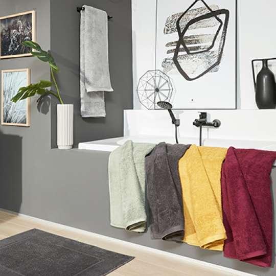 Badetücher verschiedene Farben