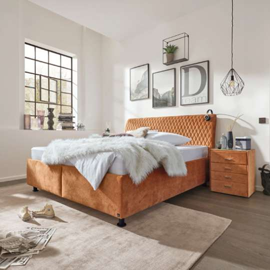 Interliving Serie 1411 Polsterbett