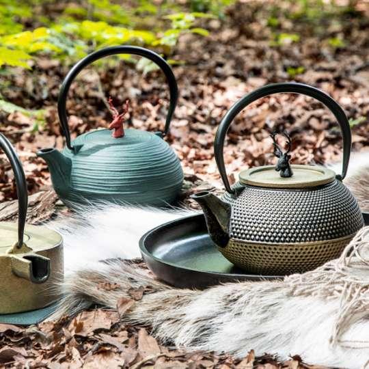 Teekannen von ja-unendlich im Country-Look