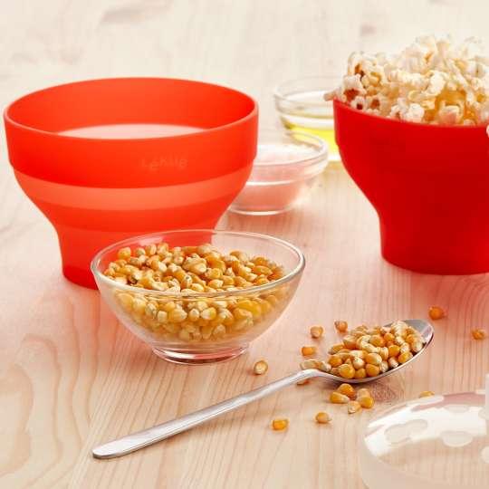 Duftend frisches Popcorn mit dem Popcorn-Maker von Lékué