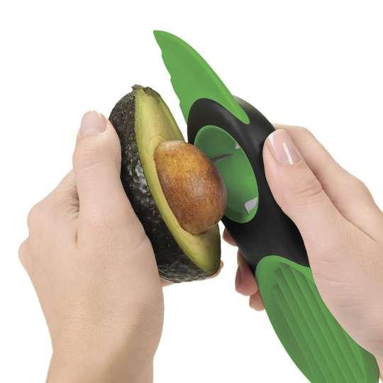 OXO macht´s möglich: Avocados öffnen, entkernen und zerteilen mit nur einem Küchenhelfer