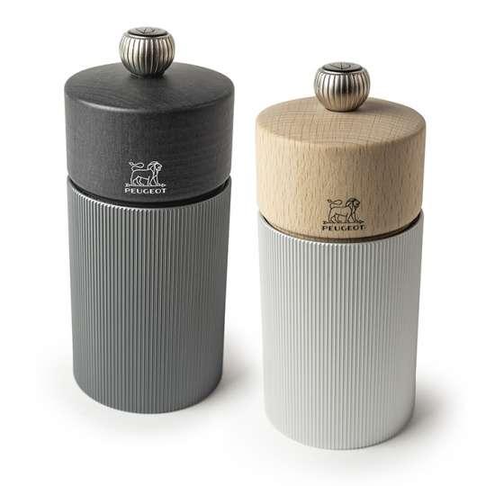 Eleganz im Duett – Die Line Salz- und Pfeffermühlen