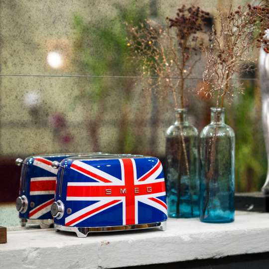 smeg Toaster im Union Jack Design