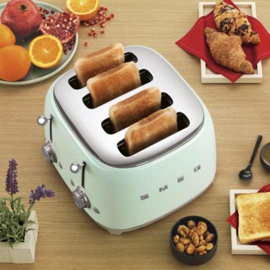 SMEG - 4-Schlitz-Toaster TSF03 - Titel