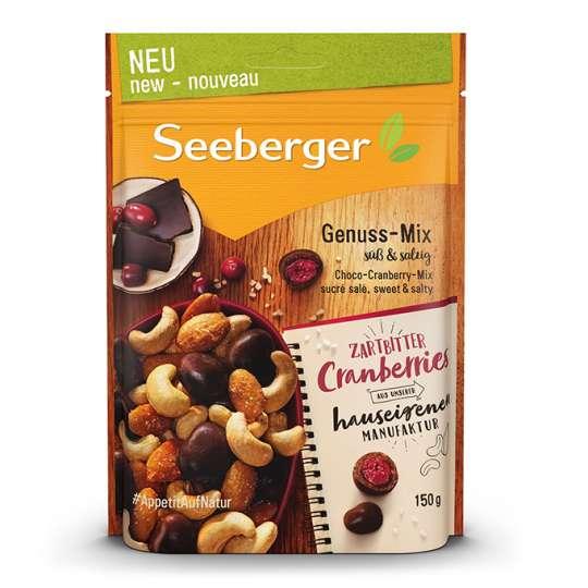 Süß trifft salzig: Neuer schokoladiger Genuss-Mix von Seeberger