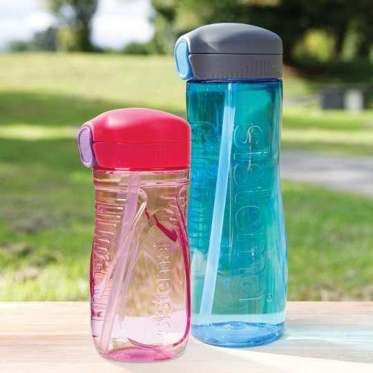 Die sistema Trinkflaschen- und becher sind die perfekten Begleiter in allen Lebenslagen