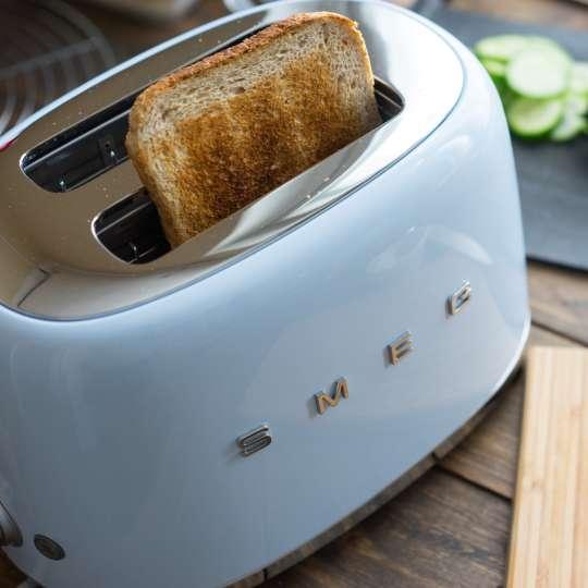 Smeg Toaster Pastellblau Milieu