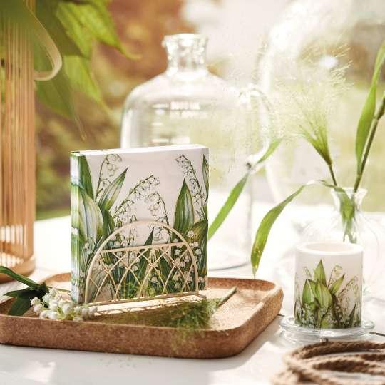 """Der Mai ist gekommen – mit dem Tafeldekor """"Sweet Lily"""" von Ambiente Europe"""