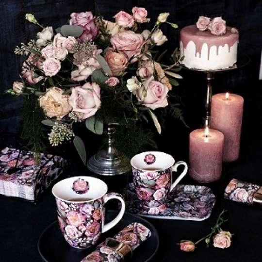 """Ambiente Europe mit Rosendekor """"Vintage Flowers"""": Opulenz und Blütenpracht"""