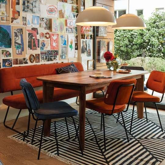 TOM TAILOR Dining Orange Blau