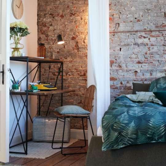 Altbauwohnung – GREEN BEDROOM & HOMEOFFICE