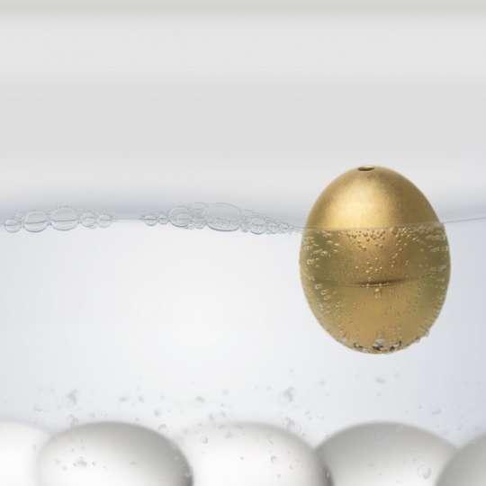Das Goldene PiepEi® Manchmal muss es Luxus sein!