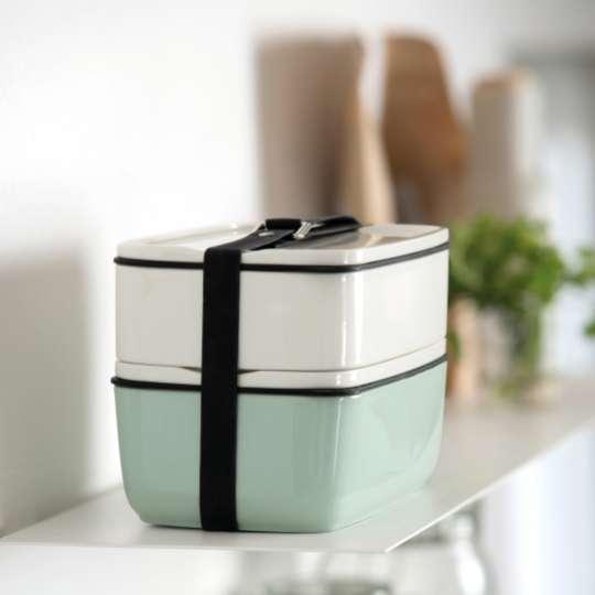 Lunchboxen aus Porzellan