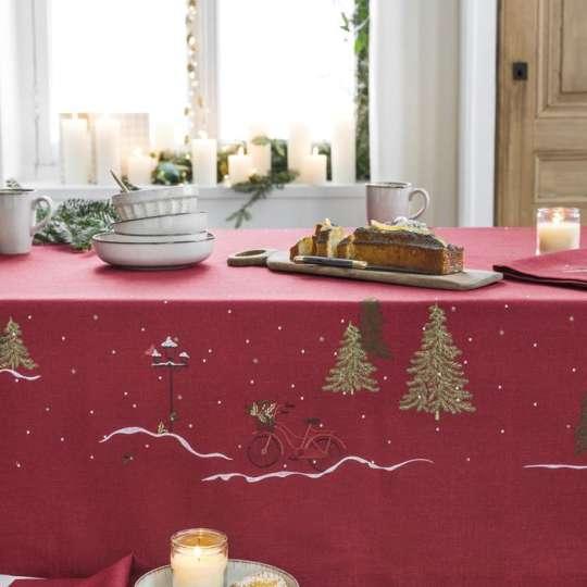 Magische Weihnachten mit Linvosges: traditionelle Farben - edle Festtagsstimmung!
