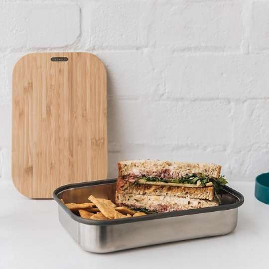 black+blum Edelstahl Sandwichbox