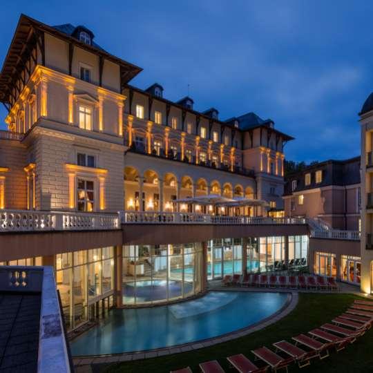 Nobel entspannen im Falkensteiner Hotel Grand MedSpa Marienbad