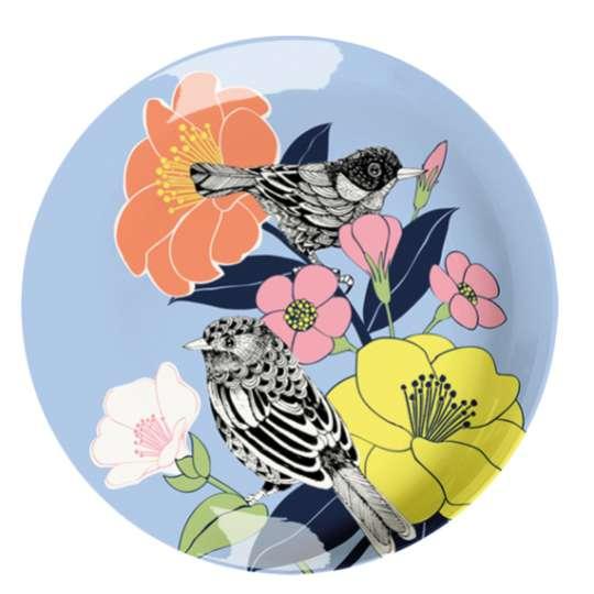 Mila: Kollektion Ginger / Thema 'Flowerbird' - zartes Schwirren und prächtige Blüten