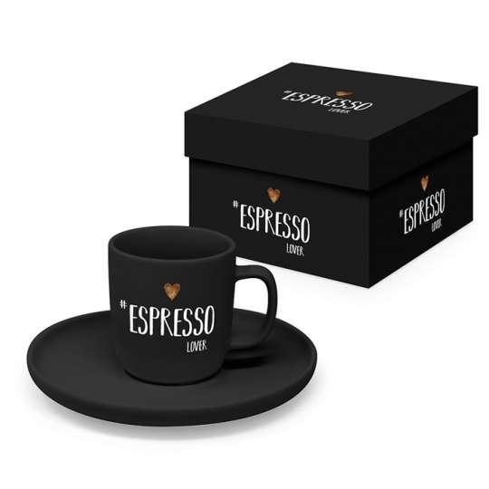 Espresso Tasse mit Geschenkkarton