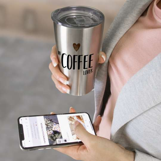 Isolierbecher Stainless Steel Travel Mug