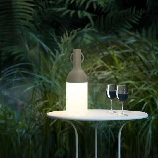 Gutes Design, beste Funktion: Outdoor-Leuchte in Flaschenform von Sompex
