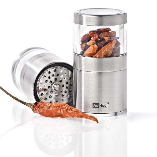 Geschmack braucht nicht viel Platz - VOYAGE – der kompakte Mini-Chili und Gewürzschneider