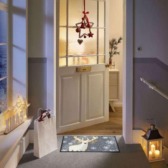 Fußmatten von wash+dry mit hübschen Weihnachtsmotiven