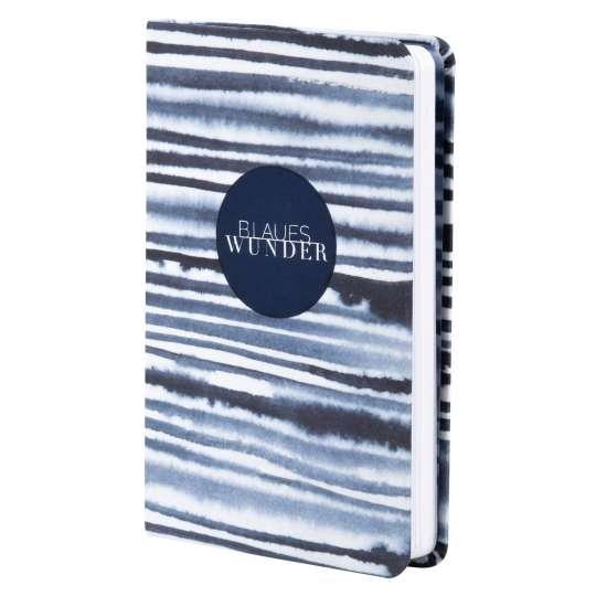 Tintenblau: Notizbuch- Blaues Wunder von Raeder
