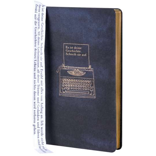 Tintenblau: Notizbuch- Weltgeschichte von Raeder