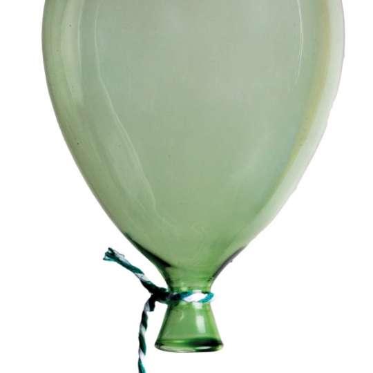 Räder: Poesien auf Glas / Luftballon grün