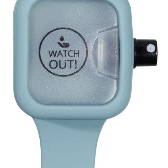 Watch Out! Desinfektionsarmband türkis